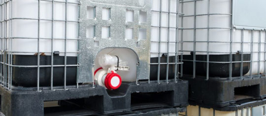 IBC container monitoring